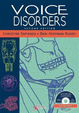 Voice Disorders, by Sapienza, 2nd Edition 2 w/DVD 9781597564939