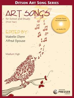 Art Songs for School and Studio, First Year Medium High 9781598061802