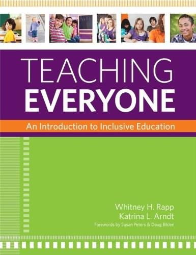 Teaching Everyone: An Introduction to Inclusive Education 1 9781598572124