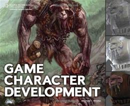Game Character Development, by Ward BK w/CD 9781598634655