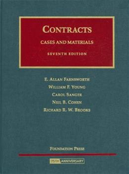 Contracts: Cases and Materials, by Farnsworth, 7th Edition 9781599410302