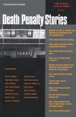 Death Penalty Stories, by Blume 9781599413433