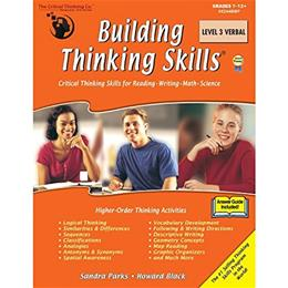 Building Thinking Skills, by Parks, Level 3, Grade 7-12 9781601441591