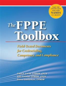 FPPE Toolbox: Assess Practitioners Competence and Comply with Joint Commission Standards, by Coler 9781601461575
