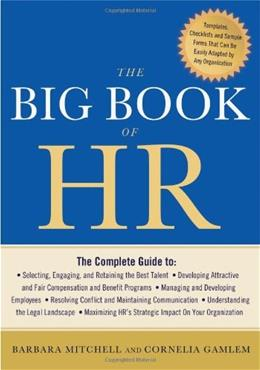 Big Book of HR, by Mitchell 9781601631893
