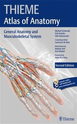 General Anatomy and Musculoskeletal System, by Schuenke, 2nd Edition 2 PKG 9781604069228