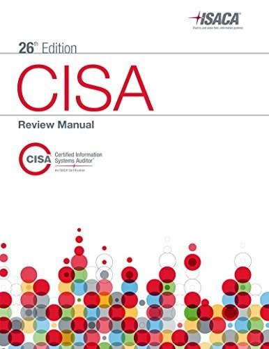 CISA Review Manual, 26th Edition 9781604203677