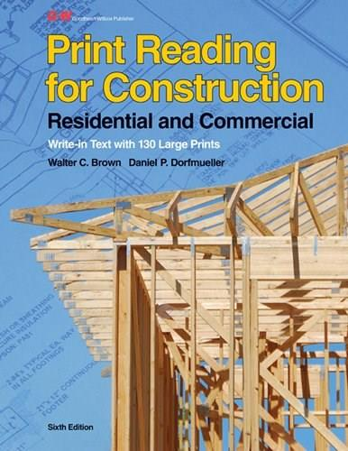 Print Reading for Construction: Residential and Commercial 6 PKG 9781605258027