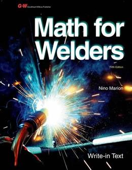 Math for Welders, by Marion, 5th Edition 9781605259000