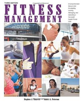 Fitness Management, by Tharrett, 3rd Edition 9781606792155