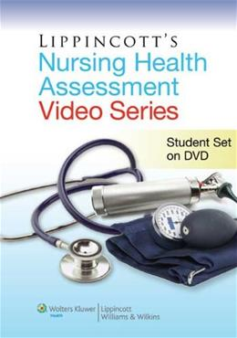Lippincotts Nursing Health Assessment Video Series, by Neda, DVD-ROM ONLY 9781608310944