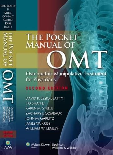 Pocket Manual of OMT: Osteopathic Manipulative Treatment for Physicians, by Essig-Beatty, 2nd Edition 9781608316571