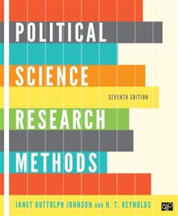 Political Science Research Methods 7 9781608716890