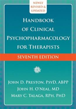 Handbook of Clinical Psychopharmacology for Therapists 7 9781608826643