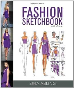 Fashion Sketchbook, by Abling, 6th Edition 6 w/DVD 9781609012281