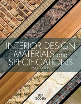 Interior Design Materials and Specifications, 2nd Edition 9781609012298