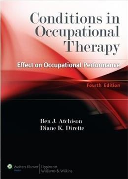 Conditions in Occupational Therapy: Effect on Occupational Performance 4 PKG 9781609135072