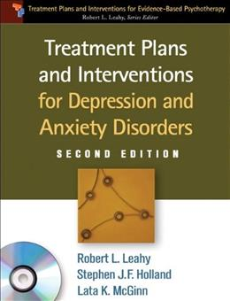 Treatment Plans and Interventions for Depression and Anxiety Disorders, 2e: Treatment Plans and Interventions for Evidence-Bas 2 w/CD 9781609186494