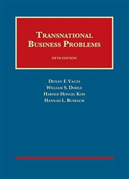 Transnational Business Problems, by Vagts 9781609300845
