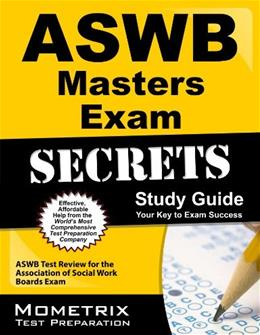 Aswb Masters Exam Secrets, by Aswb Exam Secrets, Study Guide 9781609712211