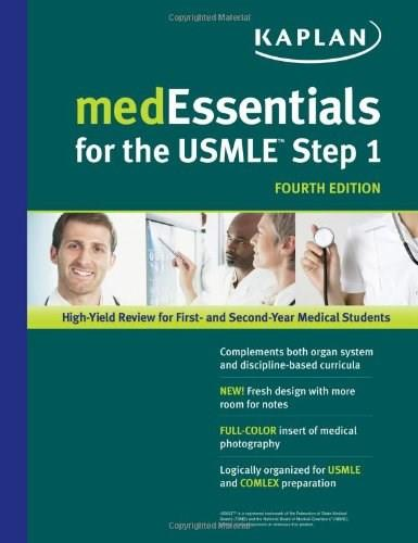 medEssentials for the USMLE Step 1, by Manley, 4th Edition 9781609780265