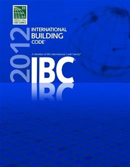 2012 International Building Code, by International Code Council 9781609830403