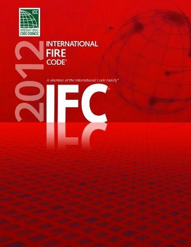 2012 International Fire Code, by ICC 9781609830465