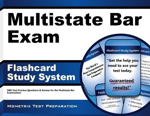Multistate Bar Exam Flashcard Study System: MBE Test Practice Questions & Review for the Multistate Bar Examination (Cards) CRDS 9781610721813