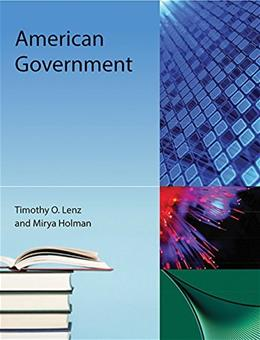 American Government, by Lenz, 4th Edition 9781616101633