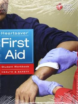 Heartsaver First Aid, by American Heart Association, Student Workbook PKG 9781616690182