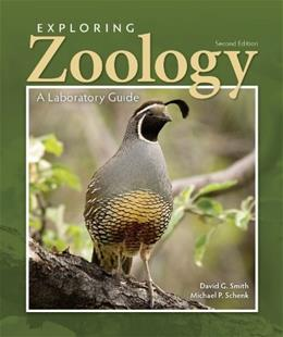 Exploring Zoology in the Laboratory, by Smith, 2nd Edition 9781617311567
