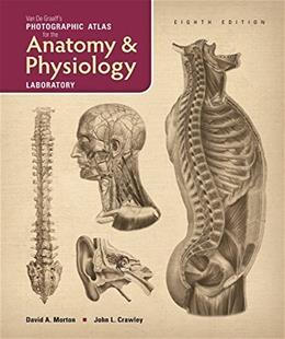 Van De Graaffs Photographic Atlas for the Anatomy and Physiology Laboratory, by Van De Graaf, 8th Edition 9781617312779