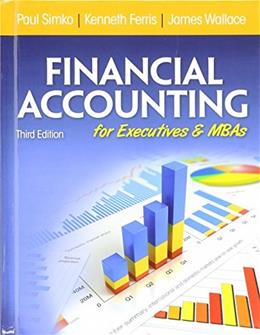 Financial Accounting for Executives and MBAs 3 9781618530462