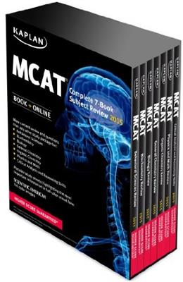 Kaplan MCAT Complete 7-Book Subject Review: Created for MCAT 2015 (Kaplan Test Prep) PKG 9781618656445