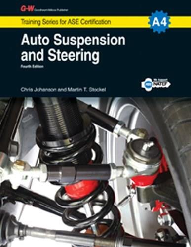 Auto Suspension and Steering, A4, by Johanson, 4th Edition 9781619607156