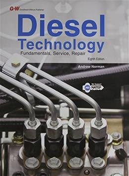 Diesel Technology, by Corinchock, 8th Edition 9781619608320