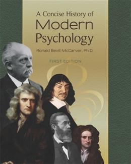 Concise History of Modern Psychology, by McCarver 9781621310044