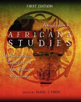 Introduction to Africana Studies: Multidisciplinary Perspectives on the African Experience, by Prou 9781621315506