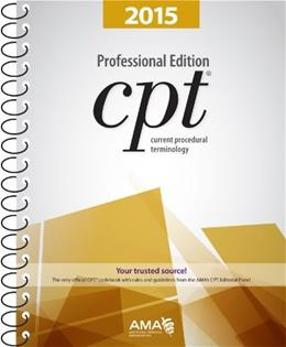 CPT Professional Edition: Current Procedural Terminology, by American Medical Association Press 9781622020263
