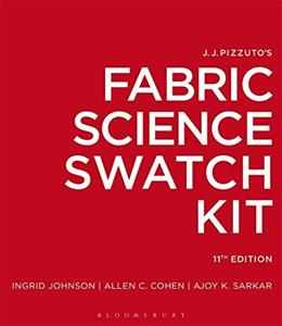 J.J. Pizzutos Fabric Science Swatch Kit, by Johnson, 11th Edition 9781628926576