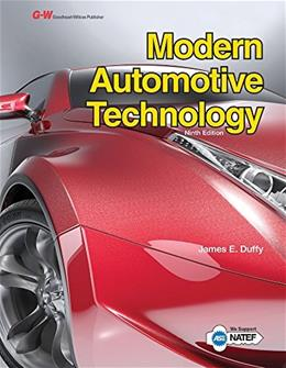Modern Automotive Technology, by Duffy, 9th Edition 9781631263750
