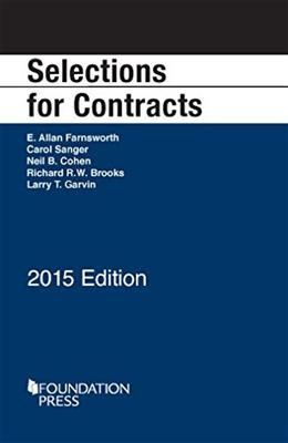 Selections for Contracts, by Farnsworth 9781634594653