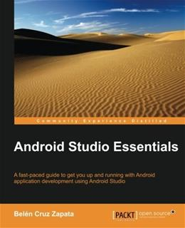 Android Studio Essentials, by Zapata 9781784397203