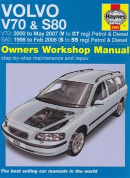 Volvo V70 and S80 Petrol and Diesel Service and Repair Manua (Haynes Service and Repair) 2nd Revise 9781844258789