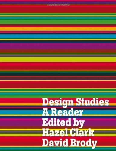 Design Studies: A Reader, by Clark 9781847882363