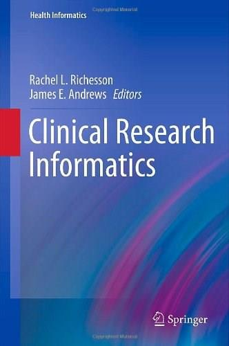 Clinical Research Informatics, by Richesson 9781848824478