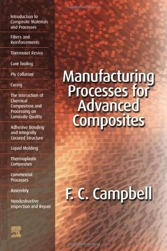 Manufacturing Processes for Advanced Composites, by Campbell 9781856174152