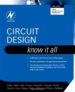 Circuit Design: Know It All, by Ashby 9781856175272