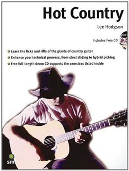 Hot Country Guitar, by Hodgson BK w/CD 9781860741388
