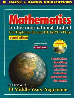 Pre Diploma SL and HL: Mathematics for the International Student, by Vollmar, 2nd Edition 2 w/CD 9781876543891